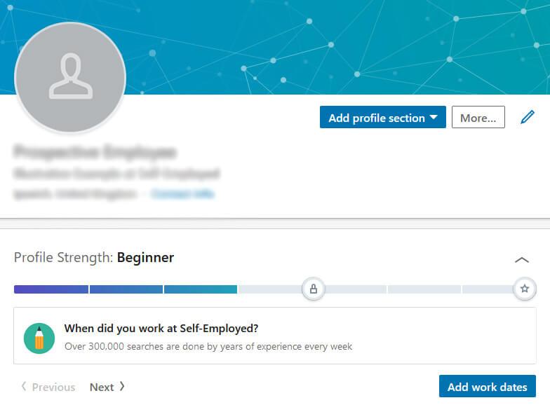 Best sales LinkedIn profiles
