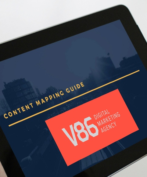 content mapping guide image
