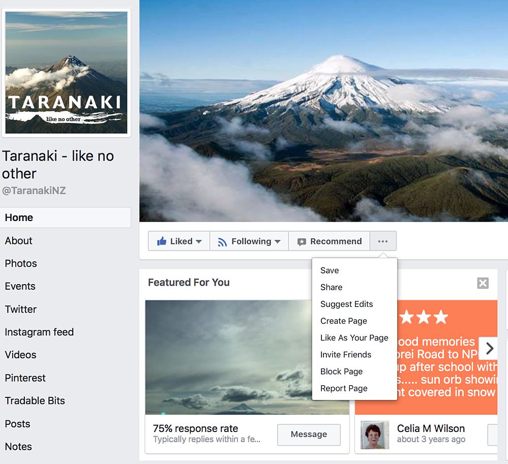 how to like a buinsess page as your business facebook