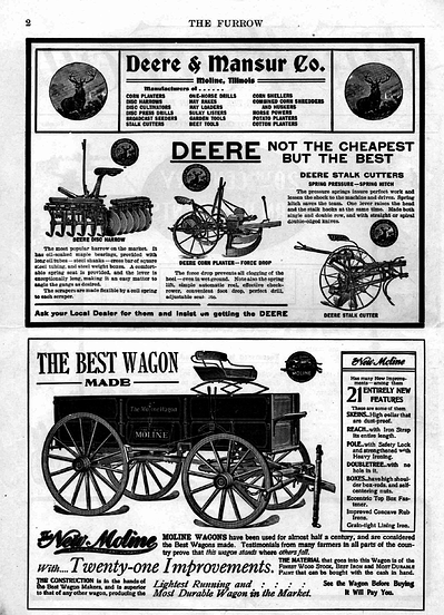 The Furrow Magazine - the first example of content marketing?