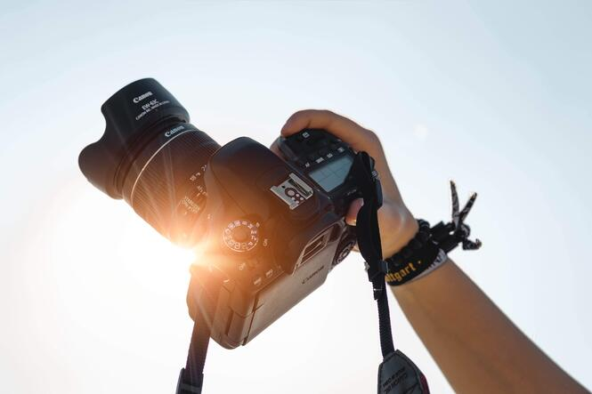 Try making use of natural lighting for your photography